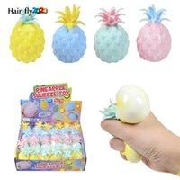 8 cm Sevimli Ananas Fidget Oyuncaklar Çocuklar Yumuşak Stres Topları Dekompresyon Çocuk Ofis Basınç Yayın Antistres DHL BJ29