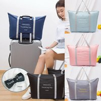 Toiletry Kits NoEnName-Null Travel Portable Waterproof Folding Storage Bag Shoes Clothes Luggage Packing Organizer Case Pouch