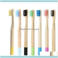Other Home & Garden Children Toothbrush Natural Eco Bamboo Handle Toothbrushes Soft Bristles Use For Kids Oral Hygiene Dental Care Jja217 Dr