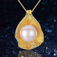 S925 Ayar Gümüş Takı Bayan Takı Düğün Için Tatlısu Inci Kolye Moda Kolye Moda Kolye Kolye