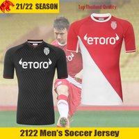 21 22 AS Mônaco Camisas de futebol FABREGAS 2021 2022 VOLLAND BEN YEDDER GELSON.M Camisa de futebol TCHOUAMENI PELLEGRI GOLOVIN Jersey