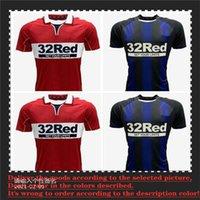 20 21 Middles de Primera CaliDad Middlesbrough F C Jerseys Fútbol # 6 Fry 9 Assombalonga 10 Akpom 11 Fletcher Camisas de Futebol Homens Kit Niños Uniformes