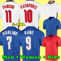 2021 جبل كرة القدم الفانيلة Kane Rashford Vardy Sterling Sturridge Sancho Jersey 2022 الكبار الرجال النساء + أطفال كيت كرة القدم قميص