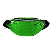 HBP Porte-monnaie BUM BUM SAC FANNY SHINY PACK FESTIVAL FESSAL MONEAS DE PORTECTEUR Hommes Femmes Voyage Vaisselle Vaisselle Ceinture Pochette Paquet vert Vert