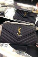 2021 المصممين الفاخرة النساء الشظية سلسلة حقيبة crossbody حقيبة يد جلدية حمل فليب غطاء حقائب الكتف قطري محفظة