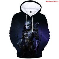 3d Hoodies Horror Movies Print Winter Fashion Swearshirt Women Cool Streetwear Men Predator Oversized Hoodedcavp