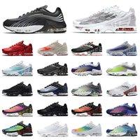 Nike Air Max Tn 3 Tuned Airmax Plus 2 Retroأحذية الجري في الهواء الطلق tn 3 زائد 2 للرجال إمرأة الرياضة سنيكرزال مشرق النيون الركبي الأبيض الرجال حذاء شقة الرجعية أعلى جودة عالية