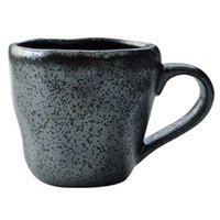 Vintage Water Mug stoneware ceramic coffee Bowl hand-painted Lattice creative and wind tea cup