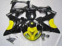 Injection Molding Motorcycle Fairings kit Fairing kits For BMW S1000RR 2009-2014 2010 Free Custom 2011 2012 2013 09 10 11 12 14 13 Bodywork Yellow Glossy Black