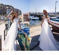 Einfache Empire Brautkleider für Mutterschaft Bridal Spitze Chiffon plus Größe Hochzeit Brautkleid Custom Made