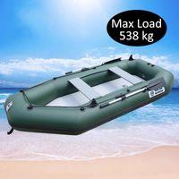 Person 330cm Aufblasbare Rudern PVC Boot Angelschiff Beihy KAYAK Canoe Hovercraft Drifting Floß Segelboot Surfen Segeln B Runden / aufblasbar