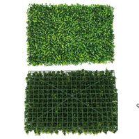 40x60 cm Yapay Çim Bahçe Süslemeleri Çim Mat Pet Plastik Kalın Sahte Otlar Çim Mikro Peyzaj HWD6804
