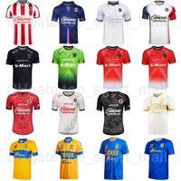 21-22 CD Chivas Guadalajara Fussball Jersey Mexikanische Liga Club MX Tijuana Juarez Tigres Uanl 10 Martinez 8 Lezcano Nico Angulo Football Hemd Kits