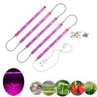 30 cm T5 LED Işık Tüpleri Büyümek Kırmızı Mavi Aydınlatma Kapalı Sebzeler için Blooms Ev Büyüyen 5 adet / takım