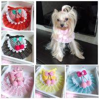 Dog Collars & Leashes Pet Neckerchief Cat Accessories Scarf Bandana Bibs Collar Saliva Towel Cotton Triangle For Chihuahua Yorkies