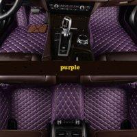 Custom 5 Seat floor mats for honda jazz fit cr-v cr-z Insight Odysseycar auto accessories gh gjn gfty th