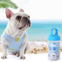 Dog Apparel Summer Cooling Clothes For Puppy Kitten Pets Cotton Breathable Vest Cat T-shirt Sleeveless Pet Costume