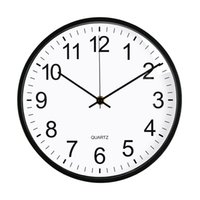 12 Inches Round Mute Digital Scale Wall Clock 3D Living Room Bedroom Walls Clocks Home Rooms Decor Hanging Punch ZXFTL1207