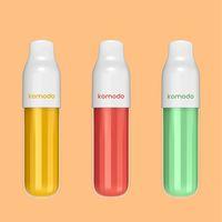 10 saveurs E cigarette 6ml kit de démarreur de pod e-shisha stylo plume 2000 bouffées de vape jetables