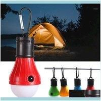 Esportes Ao Ar Livre Caminhadas e Camping Lanternas Barraca Portátil Pendurado 3 Modos Ao Ar Livre Carabiner Lâmpada de Energia de Energia Luz 2 Cores1 Drop D