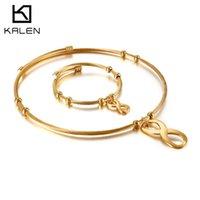 Link Digital 8-Kragen Einfache Mode Straße Schuss Kurzer Halskette Armband Set