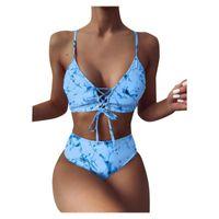 One-Piece Suits Women Bandeau Bandage Bikini Set Push-Up Brazilian Swimwear Beachwear Swimsuit Bather Swimming For Bathing Suit