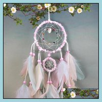 Arts And Arts, Crafts Gifts & Gardencolorf Handmade Dream Catcher Feathers Car Home Wall Hanging Decoration Ornament Gift Wind Chime Craft D
