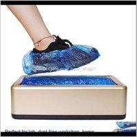 기타 하우스 키핑 조직 일회용 Office 홈 Matic Shoe Cover Dispenser Onetime Film Shoes Hine DHB24 Ahjow Wnagm
