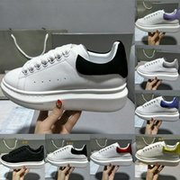 2021 Luxurys Tasarımcılar Erkekler Kadınlar Için Ayakkabı Moda Daireler Platformu büyük boy espadrille Rahat Düz Sneakers Kutusu Ile Süet Deri Sneaker Yüksek Kalite