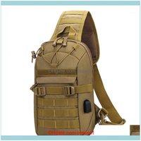 가방 스포츠 outdoorsarmy 전술 어깨 야외 사냥 가방 몰리 나일론 wading 가슴 팩 캠핑 하이킹 배낭 Unisex1 드롭 배달