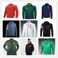 Alle Rugbyjacke Black Schottland Rot Wales Irèland Süd 2021 Afrika Männer Schweiß Jersey Hoodies Jacken