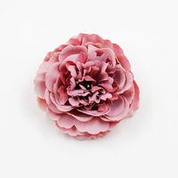 1 шт. 8 см Пион искусственный шелковый цветок головы для свадебных украшений DIY венок подарочная коробка скрапбукинг ремесло поддельный 2193 v2