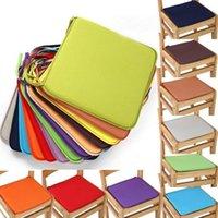 Coussin / oreiller décoratif coussin carré tampon de coussin de couleur massif de cuisine de cuisine de bureau de bureau de bureau de siège de siège
