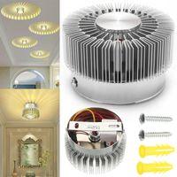 85-265V Lampada da parete girasole LED RGB Pamino a soffitto Pannello in giù Soggiorno Camera da letto Cucina Decorazioni per la casa