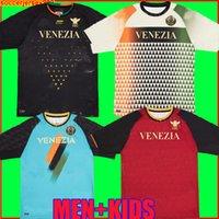 21 22 Venezia FC Fussball Trikots Home Awamu Forte Fiordilino Peretz Heymans Tessmann Crnigoi 2021 2022 Mariano Johnsen Mazzocchi Football Shirts Herren Kit Sets
