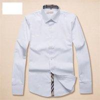 2021 الفاخرة مصمم الرجال القمصان الأزياء عارضة الأعمال الاجتماعية و كوكتيل قميص ماركة ربيع الخريف التخسيس أكثر الملابس المألوف M-3XL # 11
