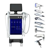 8 в 1 Гидрафакальная машина Aqua Clean Microdermabrasion Professional Aquide Facial Machine Crystal Diamond Вода для пилинга # 012