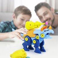 DHL 지능 장난감은 공룡 소프트 발사체를 분해 모델을 분해합니다