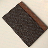 حامل بطاقة رجالي حزمة عملة محفظة فرنسا النساء أزواج قماش براون متقلب أسود منقوشة جلدية مع حامل حامل البطاقة مربع مجموعة متنوعة من الألوان لتحمل المحمولة