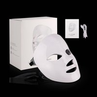 Touch switch design masque led photon machine wireless red blue light therapy facial mask