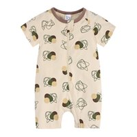 Baby Rompers Summer Newborn Boy Girl Clothing Jumpsuit Infant Short Sleeve Clothes Jumpsuits 0-24 Months