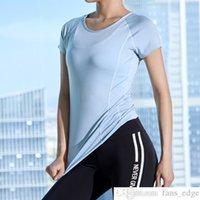 Интернет знаменитости тонкие с короткими рукавами спортивная футболка женские мужчины лето сексуальная близкая фитинга верхняя тренировка одежда быстрые сушки бегущая йога