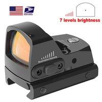Red Dot Scope Collimator Reflex Sights Pistol Handgun Sight IPX6 Autorità Acqua Fit 21mm Picatinny 17 19 9mm AR15 M4 AK