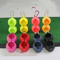 Nueva cubierta protectora de silicona Conjuntos de clubes de golf Los accesorios de protección para pelotas de golf se pueden colgar en el cinturón otros productos de golf 210 x2