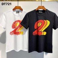 DSQDQ PHANTOM TURTLE T-shirts New Mens Designer T shirt Paris fashion Tshirts Summer DQ T-shirt Male Top Quality 100% Cotton Top 61 fEs