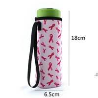 Neoprene Drinkware Water Bottle Holder Insulated Sleeve Bag Case Pouch Cup Cover for 500ml 10 Colors DWE6368