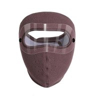 Two Pure Style Warm Mask Face Polar Fleece Riding Windproof Goggles Cyling Scarf Scarves