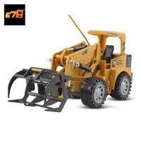 8074E 2.4G Remote Control 5-channel Simulation Grab Wood RC Engineering Truck Toy Gift