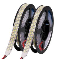 Strips 12V 24V LED Strip Light SMD 2835 Flexible Tape Lamp 5M Waterproof Lights Stripe Ribbon Diode White Warm RGB