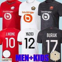Losc Lille 2021 2022 Soccer Jerseys Burak David Fonte Bamba Yazici Football Shirt 20 21 22 ليل أولمبيك جيكون 10 مايلوت الكبار للأطفال كيت